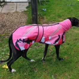 Greyhound Winter Coats Camouflage With Snood